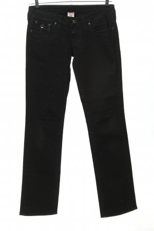 True Religion Low Rise Jeans black casual look