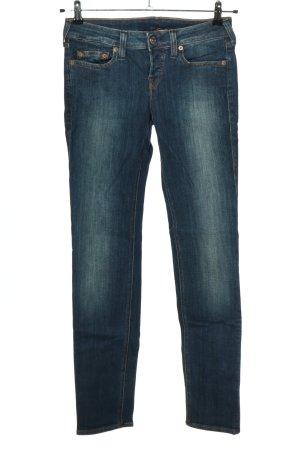 True Religion Jeans taille basse bleu style décontracté