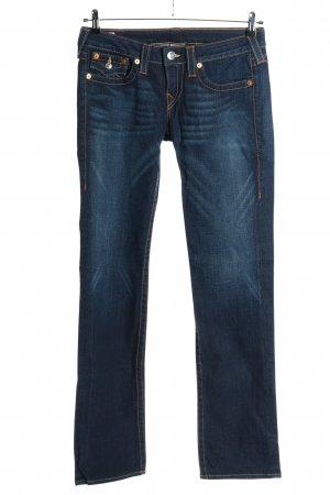 "True Religion Jeans taille basse ""Billy"" bleu"