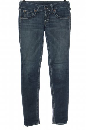 True Religion Low Rise jeans blauw casual uitstraling