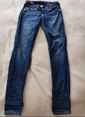 True Religion Jeans a zampa d'elefante blu