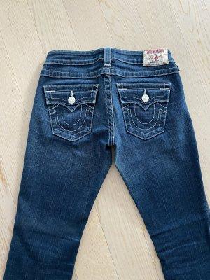 True Religion Jeansy z prostymi nogawkami niebieski-ciemnoniebieski