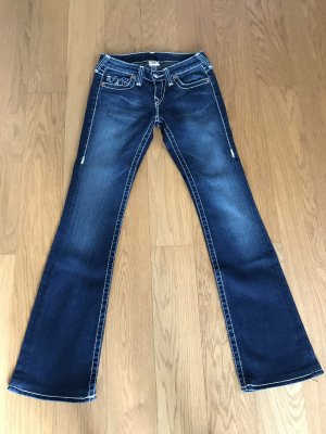 True Religion Denim Flares dark blue