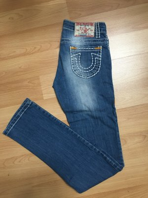 True Religion Jeans blau weiße Nähte wie NEU Gr. 26