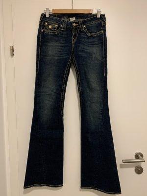 True Religion Jeans bootcut bleu foncé