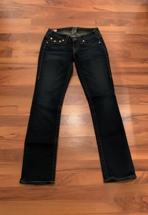 True Religion Low Rise Jeans dark blue