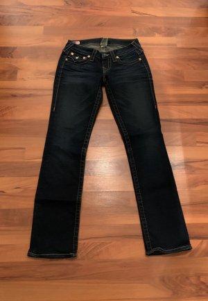 True Religion Jeans vita bassa blu scuro