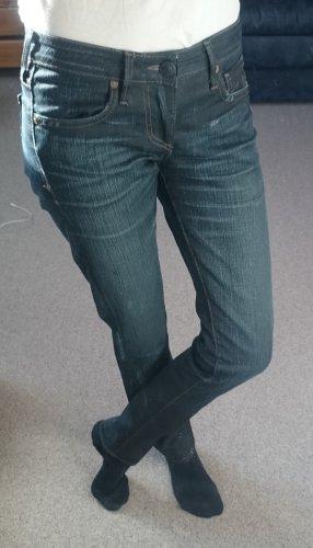 True Religion Jeans a carota blu scuro
