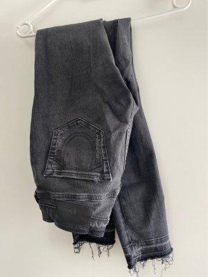 True Religion Jeans a sigaretta multicolore