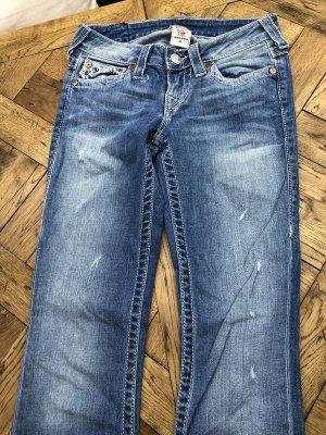 True Religion Jeansy z prostymi nogawkami Wielokolorowy