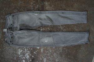 TRUE RELIGION Jeans Größe 26 Skinny grau