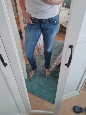 True Religion Jeans a sigaretta blu