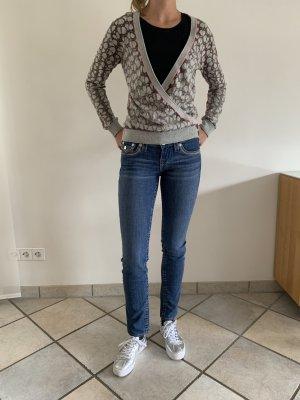 True Religion Jeans slim bleu foncé-bleu