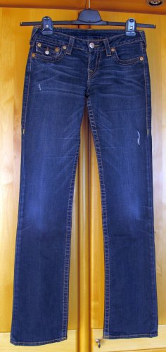 TRUE RELIGION Jeans – Low Waist, straight – Gr. 28