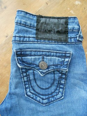 True Religion Jeans, Modell Billy Black Super T, Waschung Big Sugar (?) * W29