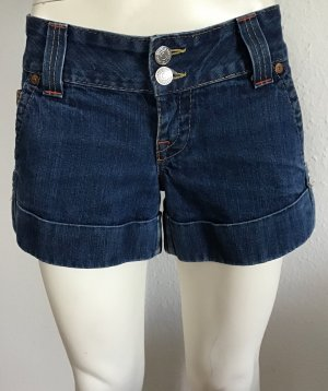 TRUE RELIGION JEANS SHORT GR. 29 BLAU LOGO