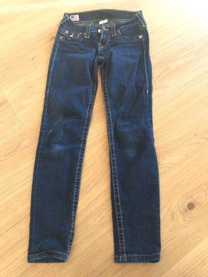 True Religion Tube jeans donkerblauw