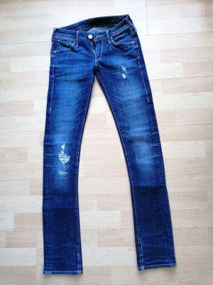 True Religion Skinny Jeans blue cotton