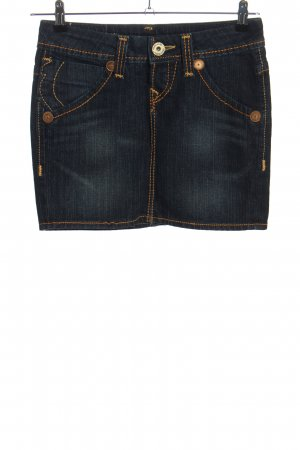 True Religion Jeansrock blau Casual-Look