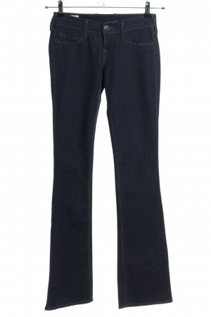 True Religion Jeansowe spodnie dzwony niebieski W stylu casual