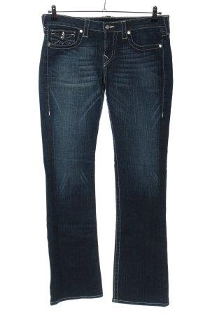 True Religion Jeansschlaghose blau Casual-Look