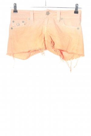 True Religion Jeansshorts hellorange Casual-Look