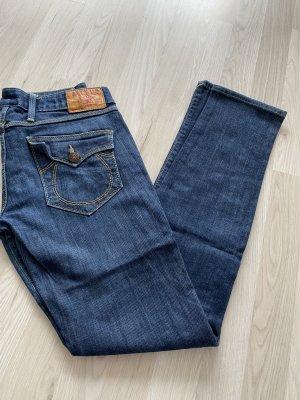 True Religion Jeans skinny bleu foncé