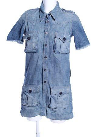 True Religion Jumpsuit blau Casual-Look