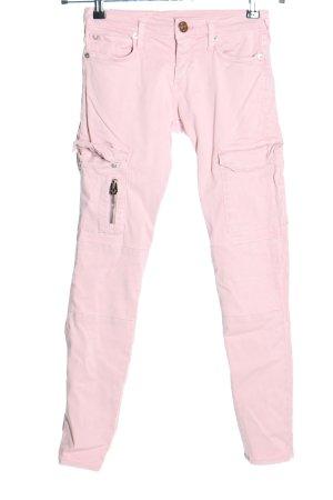 True Religion Röhrenhose pink Casual-Look