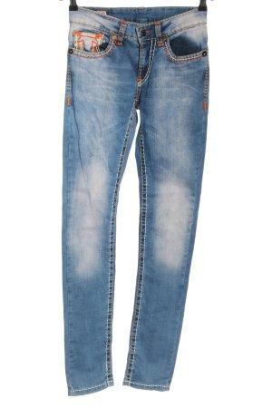 True Religion Jeans cigarette bleu style décontracté