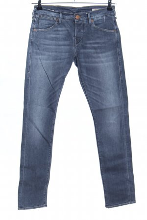 True Religion Röhrenjeans blau Casual-Look