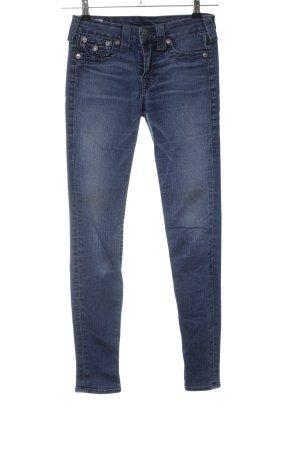 """True Religion Jeans a sigaretta """"Serena"""" blu"""