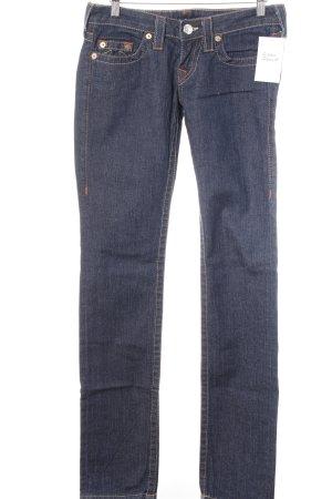True Religion Jeans cigarette bleu foncé style décontracté