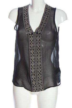 True Religion Silk Blouse black classic style