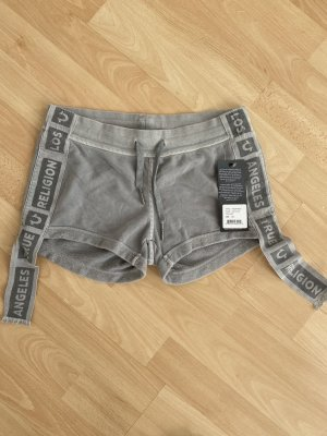 True Religion Short moulant gris clair
