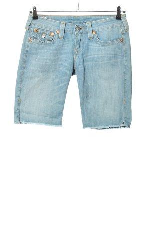 "True Religion Shorts ""Natalie"" blau"