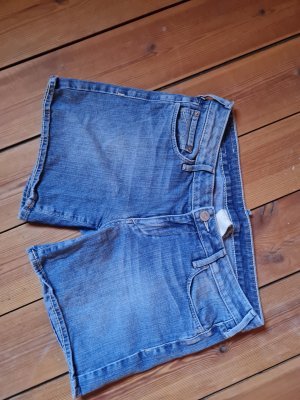 True Religion Short en jean bleu azur