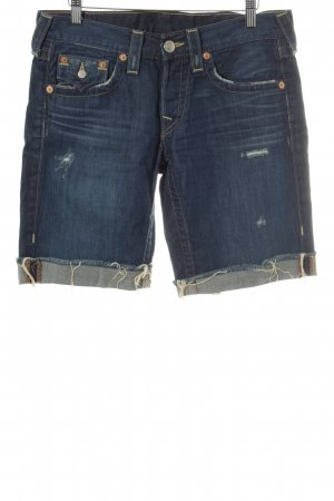 True Religion Shorts dunkelblau Casual-Look