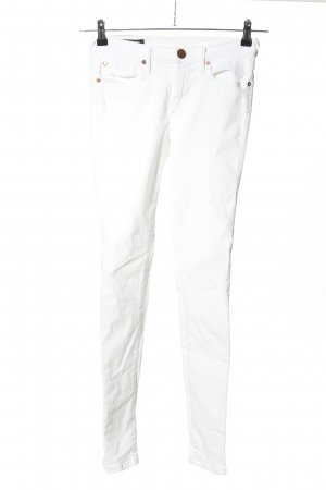 "True Religion Skinny Jeans ""Halle"" weiß"