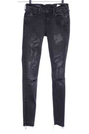 """True Religion Skinny Jeans """"Casey"""" schwarz"""
