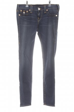 True Religion Skinny Jeans blau Casual-Look