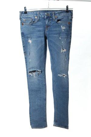 True Religion Jeans skinny bleu style décontracté