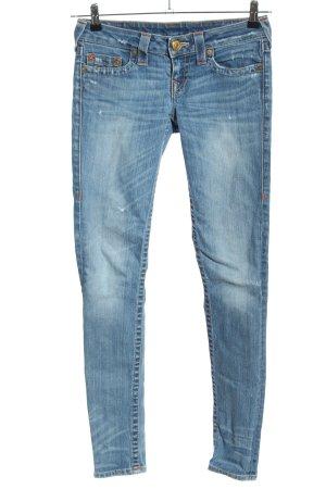 True Religion Jeansy o obcisłym kroju niebieski W stylu casual