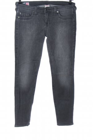 True Religion Skinny Jeans hellgrau Casual-Look