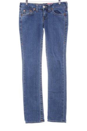 True Religion Skinny Jeans blue casual look