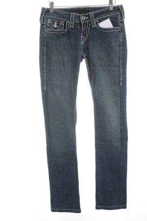True Religion Skinny Jeans blau schlichter Stil