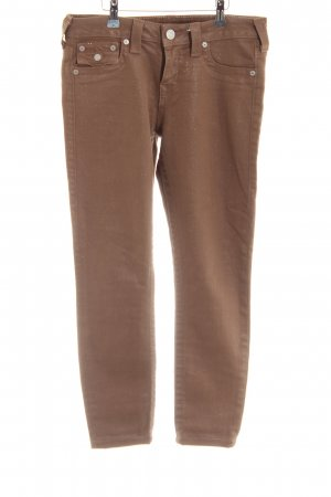 True Religion Skinny Jeans bronzefarben Casual-Look