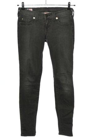 "True Religion Jeans skinny ""Casey"" gris clair"
