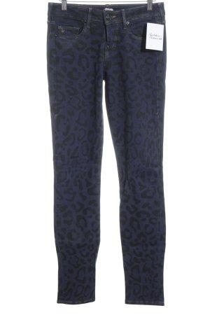 True Religion Skinny Jeans dunkelblau Leomuster Street-Fashion-Look