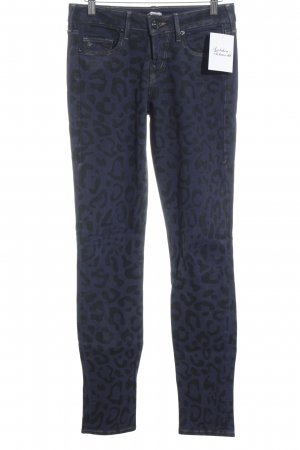 True Religion Skinny Jeans dunkelblau Leomuster Street-Fashion-Look